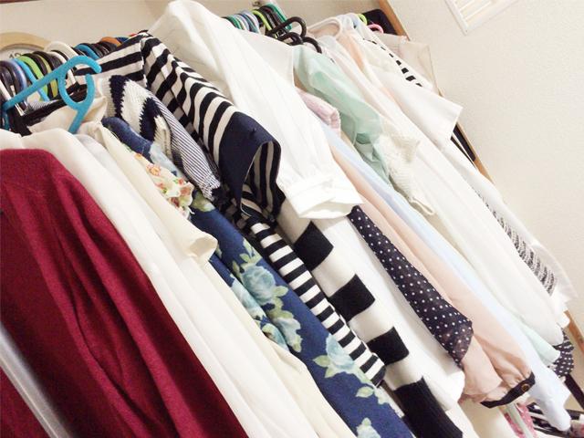 チャットレディ宮崎店のたくさんの衣装