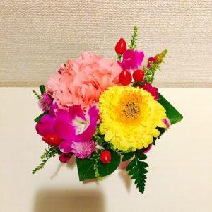 自宅のお花